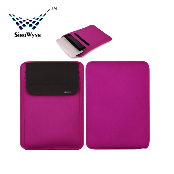Universal laptop Flip Cover Neoprene Laptop Sleeve for Macbook 13.3 inch Outer More Case for iPad