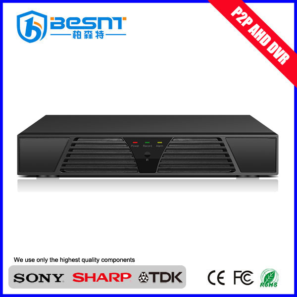 2017 best selling products Security audio H.264 AHD video recorder DVR 4ch 720p standalone ahd DVR (BS-AHD04T)