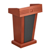 Long life top material P2 MDF/MFC high quality wooden church pulpit designs