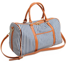 Dames <span class=keywords><strong>Femmes</strong></span> Toile Overnigt Weekender Sac Fourre-Tout De Voyage Sac