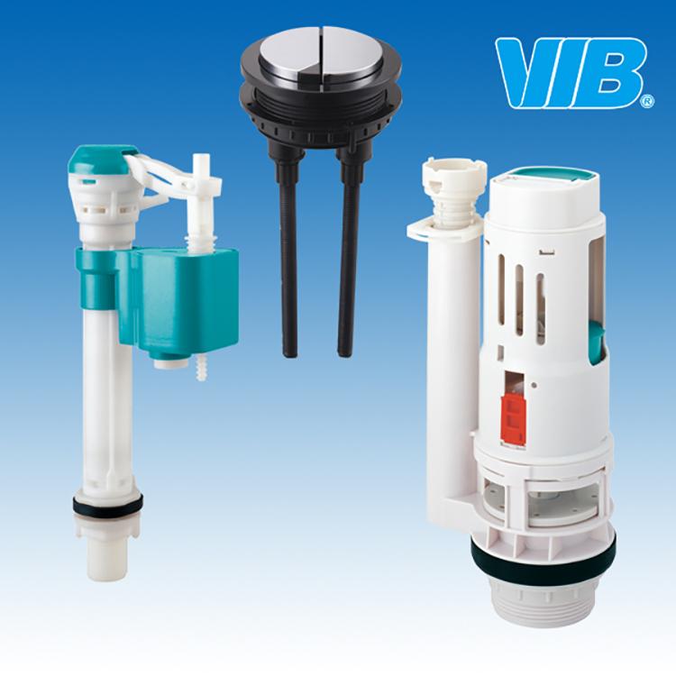 Accesorios del tanque del inodoro con descarga de la for Valvula descarga inodoro