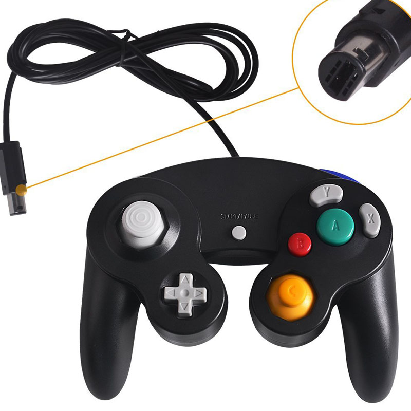 2018 High Quality Wired Game <strong>Controller</strong> for Nintendo GameCube GC Joystick Gamepad
