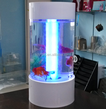 round shape acrylic fish tank/plexiglass aquarium stand/pmma fish bowl stands