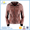 Biker Genuine Leather Jackets Wholesale Latest Sexy Fashion Design Pu Motorcycle Woman Leather Jacket