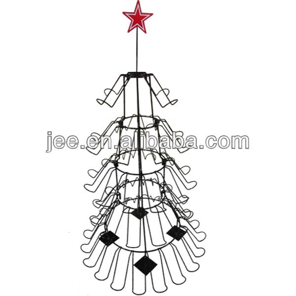 Wine Bottle Christmas Tree Rack.2018 Christmas Tree Wine Display Holder Buy Wine Stopper Display Holder Metal Tree Wine Holder Wine Display Holder Product On Alibaba Com