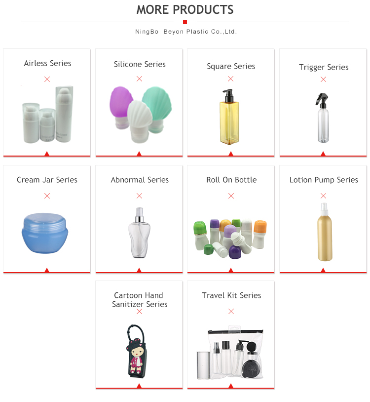 Custom Luxury PMMA 120ml Body Lotion Mist Spray Bottle With Pump