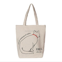 Eco-Friendly Fashion Customized Reusable Canvas Tote Bag