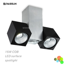 double interior cob LED spotlight 15W