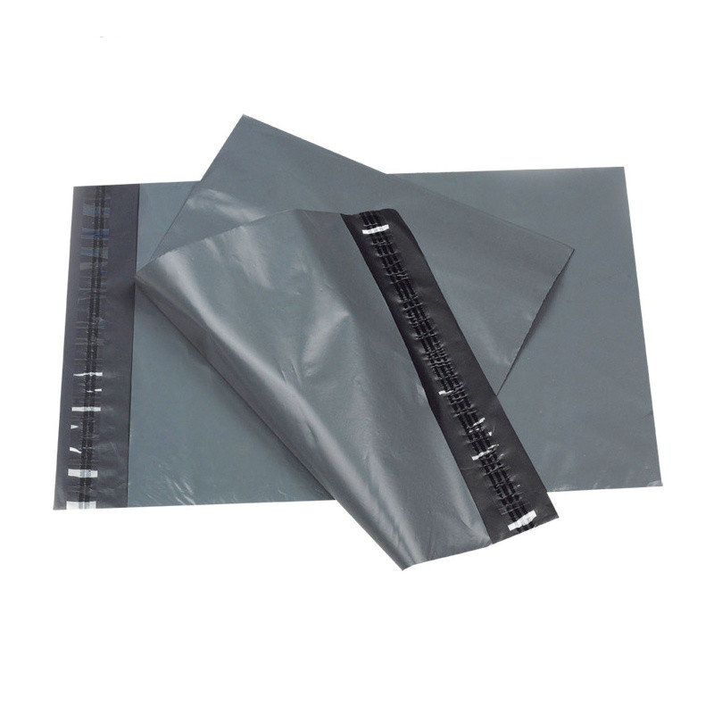 Whole Custom Grey Plastic Mailing Envelopes High Quality Poly Mailers Shipping Bags For Clothing Printed