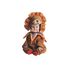 Hot selling new design handmade soft lion baby costume