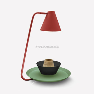 Colorful Scandinavian Modern Design home decorative lighted led table lamp