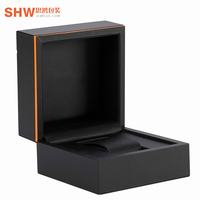 Wholesale custom design luxury creative specialty paper watch gift box packaging boxes with ribbon