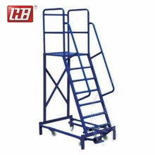 Best Prices OEM design outdoor step stand ladder extension outdoor movable metal stairs