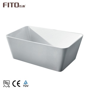 Zhongshan Luxury Bathroom Removable Small Corner Acrylic Indoor Bathtub