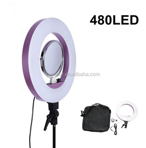 "Photography 18"" Outer 14"" Inner studio flash fluorescent ring light for video shooting for selfie and photo is perfect"