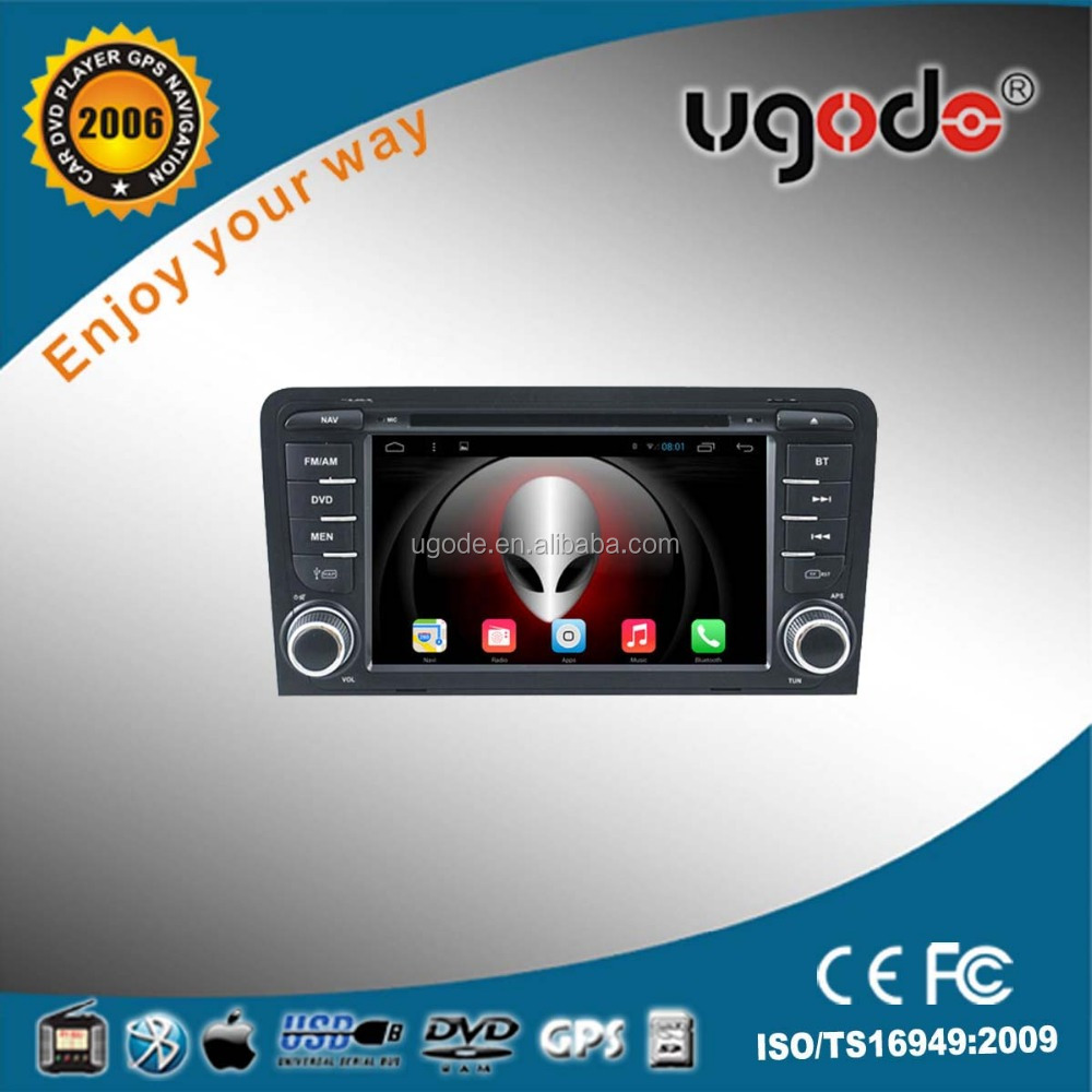 7Inch for Audi A3 Car GPS Navigation with GPS Radio, Navigation Bluetooth