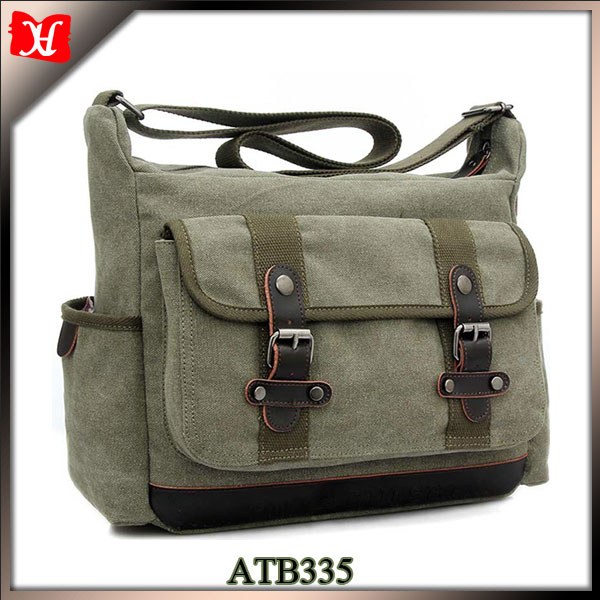 Latest Canvas Side Bags For College Boys Leisure Side Bags For Men ...
