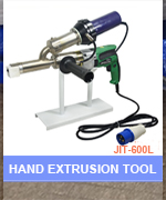 High Capacity Pipe Plastic Sheet Hand Extruder HDPE Extrusion Welding Machine
