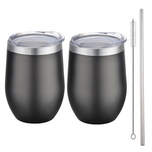Hot Selling Double Wall Stainless Steel Wine Tumbler Set