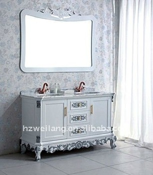bathroom furniture cheap solid wood furniture white european solid
