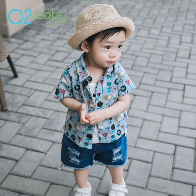 Q2-baby Fashion Custom Designs Summer Clothes Baby Blouse Tops