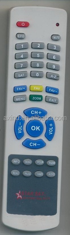 TV REMOTE CONTROL MODEL STAR SAT AB73 , FOR YEMEN MARKET, ANHUI FACTORY, TIANCHANG MANUFACTURER