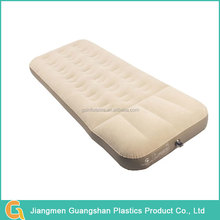Commercial custom folding flocked inflatable plastic air bed mattress