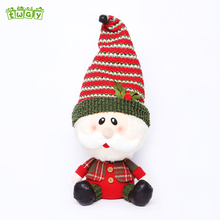 13'' Promotion snowman plush cheap bulk gifts christmas decoration toy