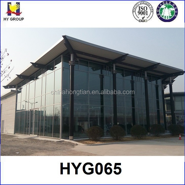 Prefabricated banquet steel structure hall