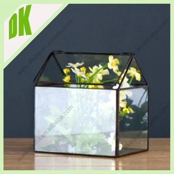Large Geometric Airplant Holder Vase Display Bulk Shape Terrarium
