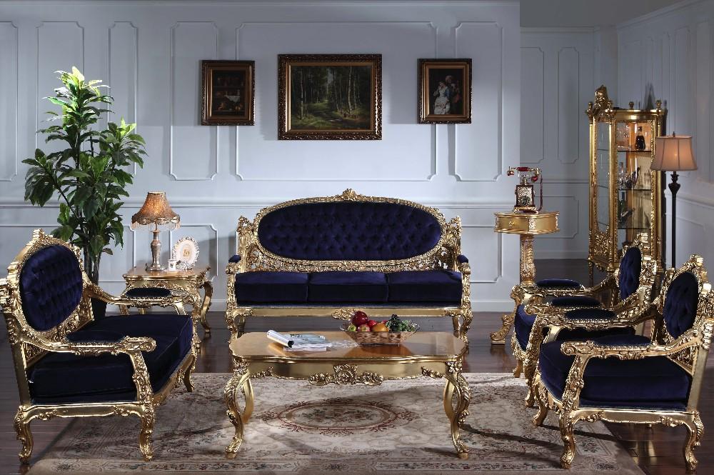 Woonkamer Set Meubels : Italiaanse houten woonkamer meubels antieke hand gesneden houten