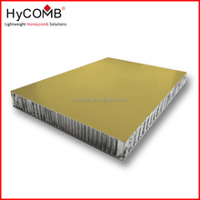 Lightweight, fireproof PVDF / PE aliminium honeycomb panel / roof aluminium sandwich panel