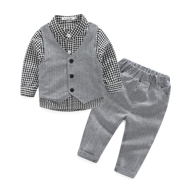 06d3a0e2c2d36 Online Shopping Children Boy Clothing Sets Fashion Child Suit For Wholesale