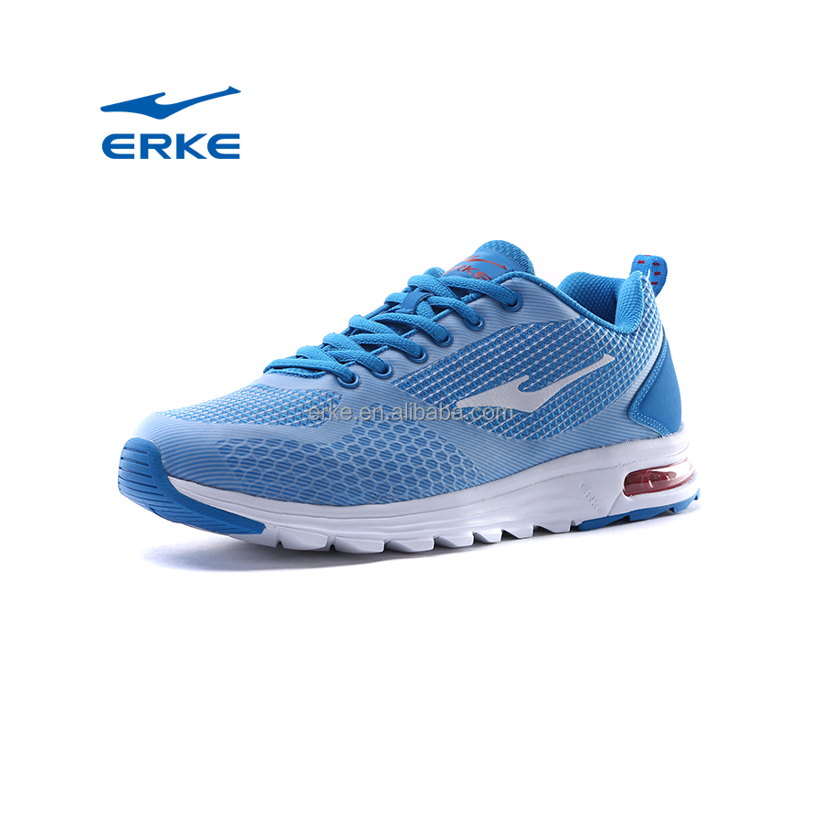ERKE wholesale dropshipping brand kint mesh brand mens air cushion fitness sneakers
