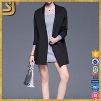 SHANGYI black cotton blazer, cotton fabric chinese clothing companies, designer leather blazer