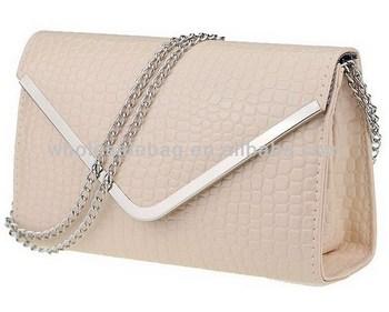 Envelop Clutch Bag Stone Pattern Long Chain Bag Envelop Sling Bag ...