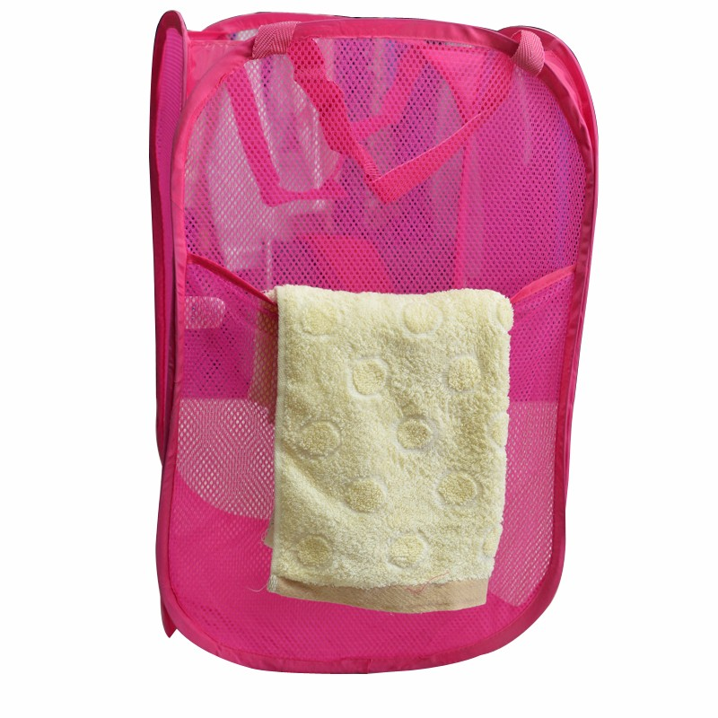 Lightweight Printed Polyester Nonwoven foldable hamper
