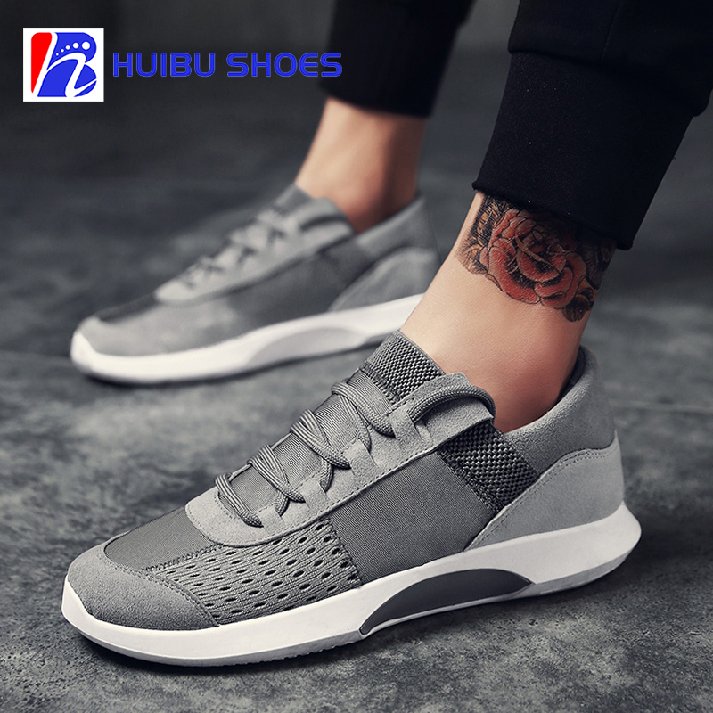 Wholesale men's casual shoes sport knit fly shoes comfortable rrwAnC8qp