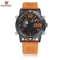 Naviforce Watch 9095 Japan Quartz Mens Wristwatch Luxury Branded 30 ATM Men Analog Sports Watches Relogio Masculino