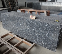 Made In China Polished 2cm Norway Blue Pearl Granite Slab Price