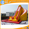 cheap inflatable double lane slip trippo water slide for kids and adults