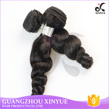 China factory wholesale price malaysian loose wave human hair extensions 3 bundles