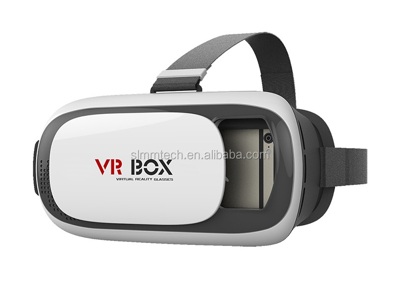 2016 heart diffraction glasses paper VR BOX 2.0 Version 2 VR Virtual Reality Glasses Smart Bluetooth Wireless