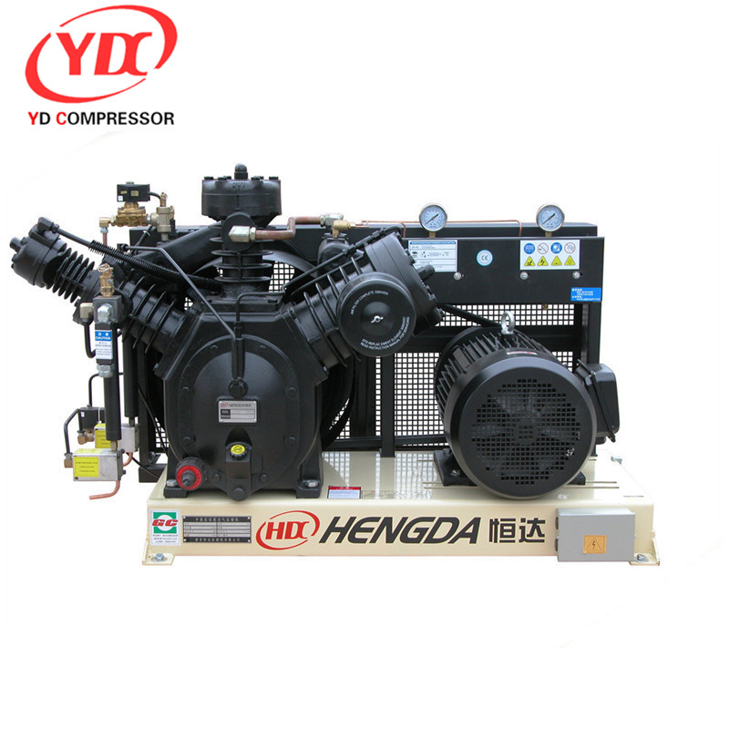 Hengda High Piston 25L 8bar 1.5hp ac piston type direct-driven air Hengda compressor