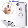 Promotional Metal + TPU Protective Case for iPhone 7 Case with Ring Holder Stand