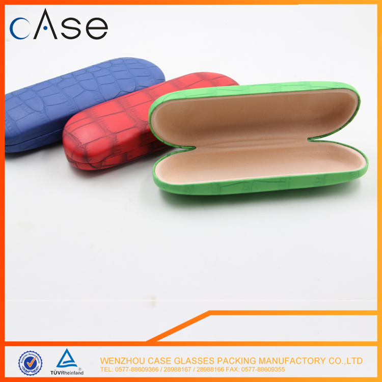 Fashion design Wholesale foldable glasses case