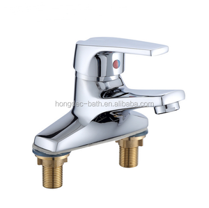 cheap price CUPC Lead-free Single Handle two holes Lavatory Vanity Basin Mixers Bathroom Faucet