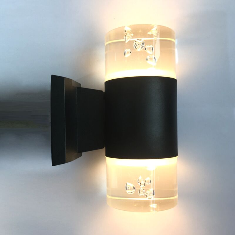 Nice design acrylic wall mount led light transparent