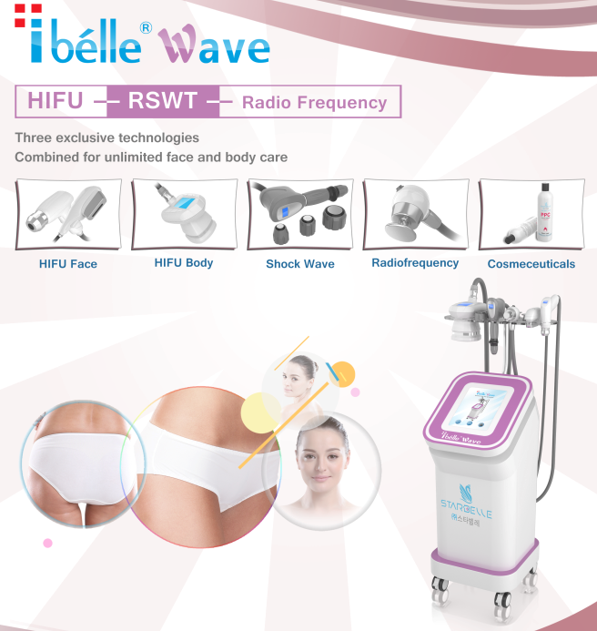 HIFU ultrasound therapy long last result instant machine face lift with body hifu slimming handle