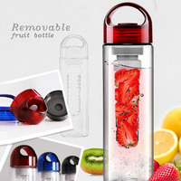 Amazon hot sell plastic drinking 32 oz fruit infuser bottle made in china
